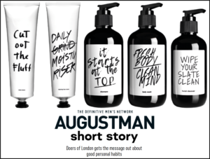 Augustman Short Story Feature Doers of London